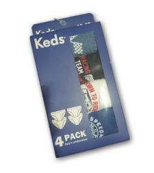רביעיית תחתונים בנים  KEDS 02121508KD