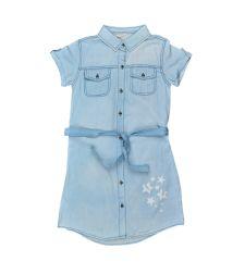 שמלות ג'ינס מעוצבת 4-14 בנות 30020133360