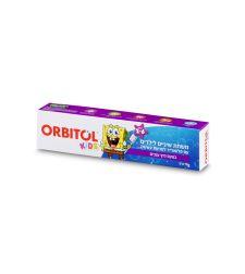 אורביטול משחת שיניים בוב ספוג