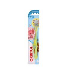 אורביטול מברשת שיניים תינוקות 0-2