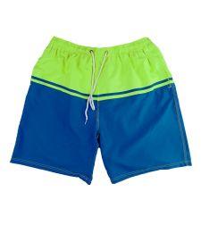 מכנס ים גבר ירוק כחול 25222215