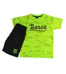 חליפת כדור רגל בנים  צהוב זוהר ברצלונה FCB51434