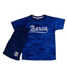 חליפת כדור רגל בנים  כחול ברצלונה FCB51434