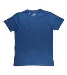 חולצת בייסיק גבר כחול גינס ניקי  966611JEANSM