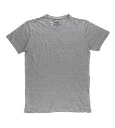 חולצת בייסיק גבר אפור מלאנג' ניקי  966611MELANM