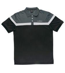 חולצת פולו גבר 6632599 שחור