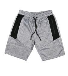 מכנס קצר אפור מלאנג 347206930311