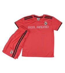 חליפת כדור רגל בנים ריאל מדריד ורוד RM11260