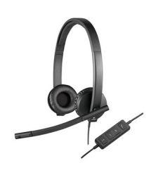 אוזניות חוטיות Logitech USB Headset Stereo H570e לוגיטק