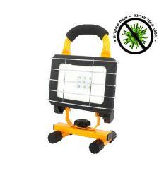 פנס נטען לחיטוי UVC LED 10W