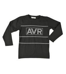 חולצה בנים לייקרה מעוצבת 2-8 שחור