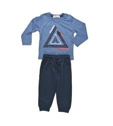 חליפת בייבי בנים פרנץ טרי 12-24M BASIC כחול