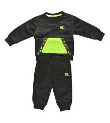 סט פיטנס ניקי 655735BKBB תינוקות בנים שחור צהוב