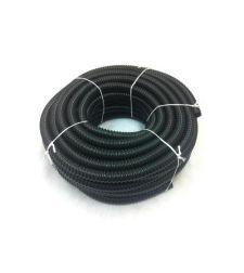 צינור שרשורי שחור 16 לתאורת גינה