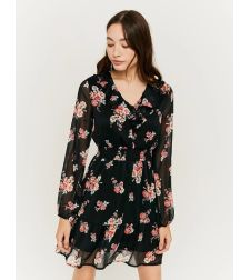 SDRPEKABA שמלה פרחונית מלמלה