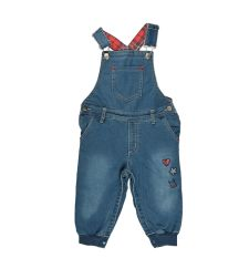 אוברול ג'ינס מעוצבת 6-24M בנות 30020213138 מעבר