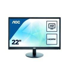מסך מחשב AOC E2270SWHN 21.5 אינטש Full HD