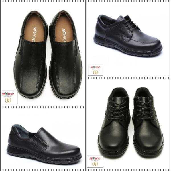 נעלי גברים עם רפידה נשלפת למדרס