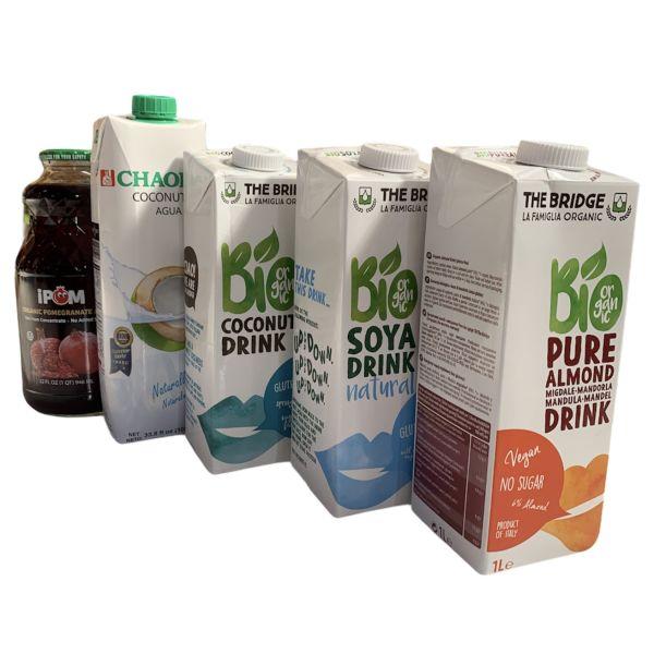 משקאות ותחליפי חלב