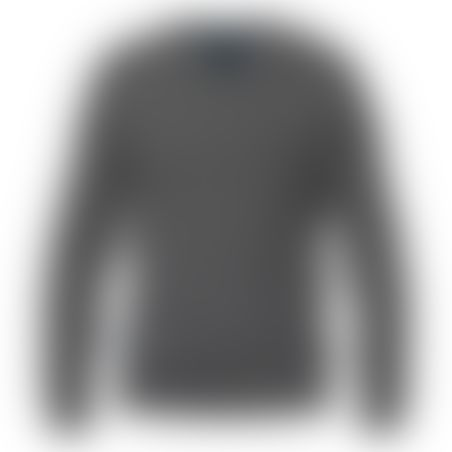 סריג V-Neck Cashmere אפור