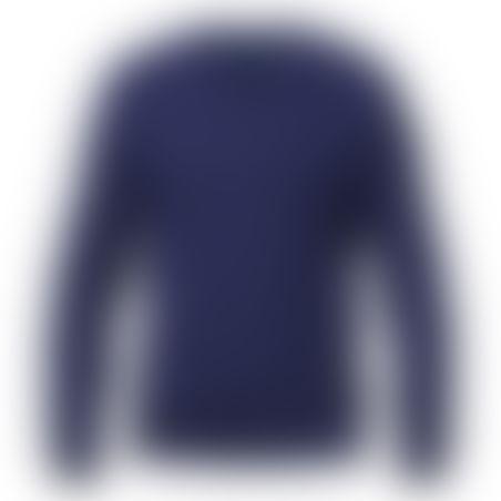 סריג V-Neck Cashmere כחול
