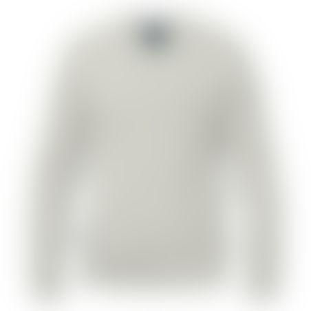 סריג V-Neck Cashmere אפור בהיר