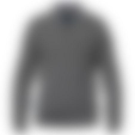 סריג 1/2 רוכסן Cashmere אפור