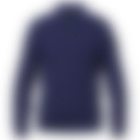 סריג 1/2 רוכסן Cashmere כחול