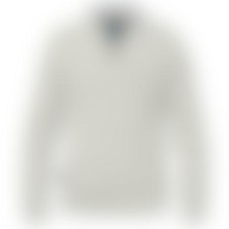 סריג 1/2 רוכסן Cashmere אפור בהיר