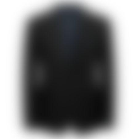 חליפה Classic Fit שני כפתורים- שחור