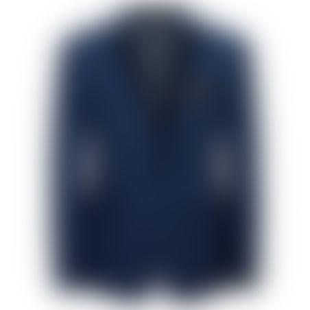 חליפת טוקסידו שילוב סטן כחול