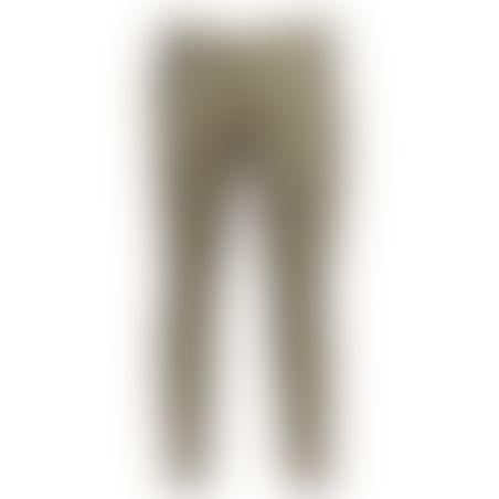 מכנסיים כותנה Skinny - בז׳