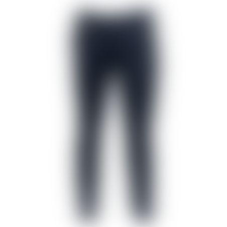 מכנסיים כותנה Skinny - כחול אינדיגו