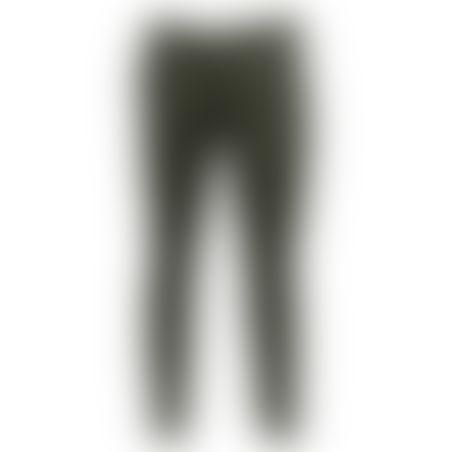 מכנסיים כותנה Skinny - אוליב