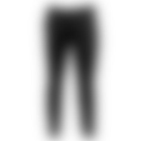 מכנסיים כותנה Skinny - שחור