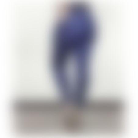 ג'ינס סקיני גומי במותן- כחול כהה
