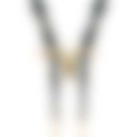 שרשרת שור וולטייר -  זהב