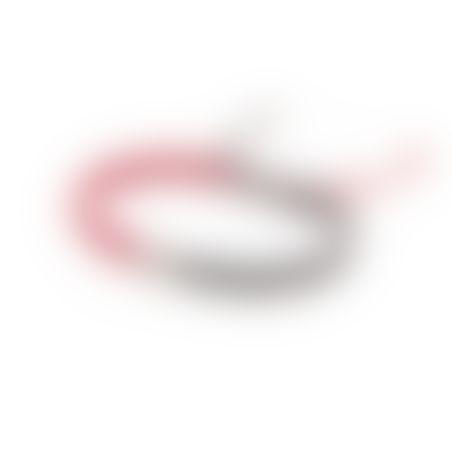 צמיד קרושה קונכייה גברים - אדום, אפור, כסף