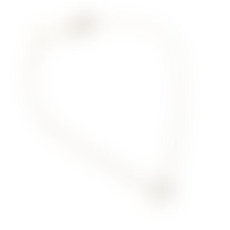 שרשרת נינה - כסף 925