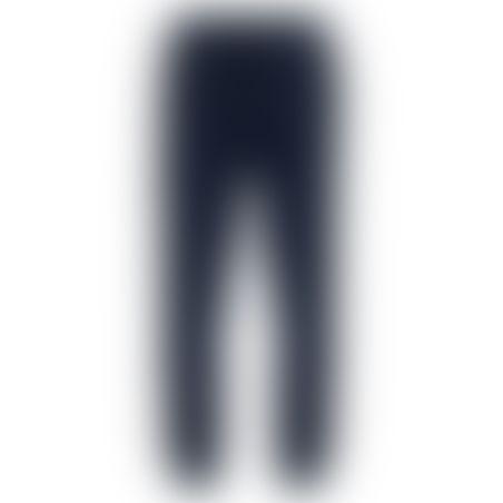 מכנסי ספורט (טרינינג) סקיני סרט צדדי- נייבי