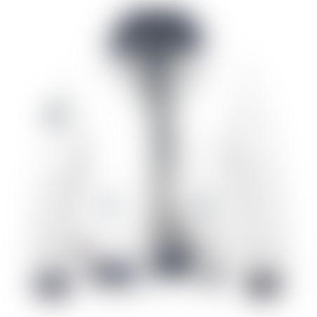 מעיל BOMBER - לבן