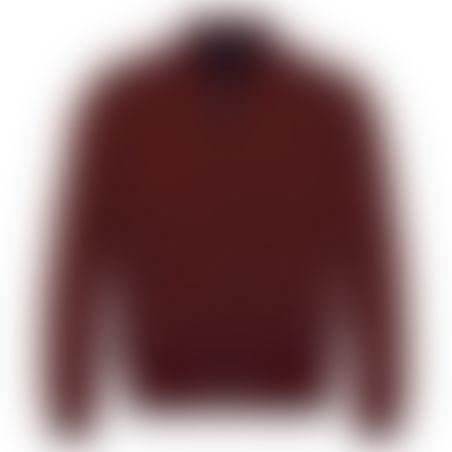 מעיל דו-צדדי - נייבי/בורדו