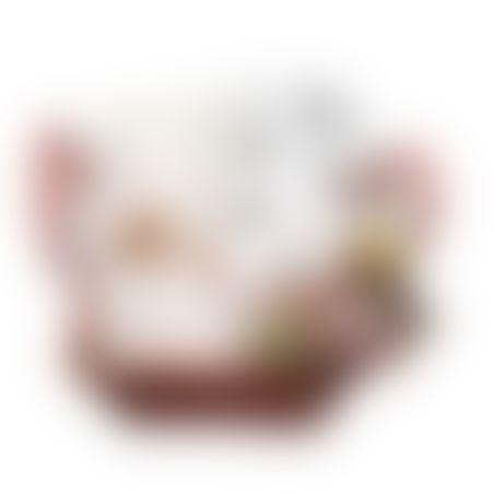 20# - בהיר ורגוע : סל צבעוני קלוע עם קפוצ'ון מגבת, כירבולית טטרה ענקית של אדן אנד אנאיס, חיה נתלית נמשכת