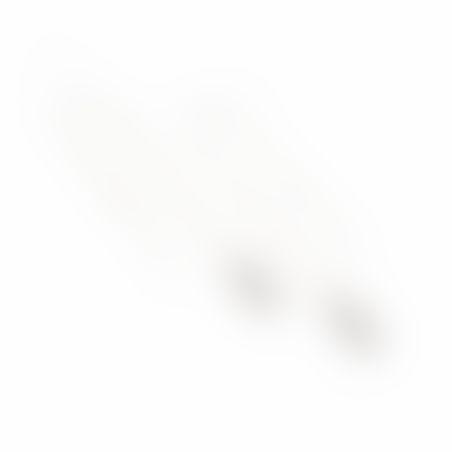 עגילי גדיל קונוס - כסף 925