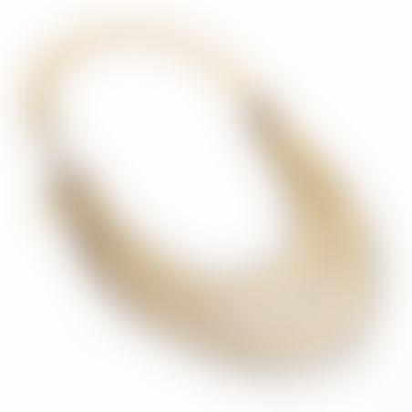 שרשרת מונאקו - כסף מושחר, ניקל, זהב