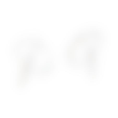 עגילי סוהו - כסף 925
