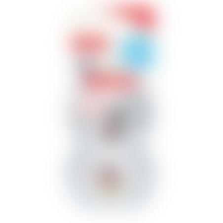 NUK זוג מוצצים מיקי מאוס 6-18 ח' אפור