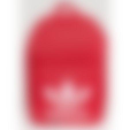 תיק גב אדידס  בצבע אדום ADIDAS -