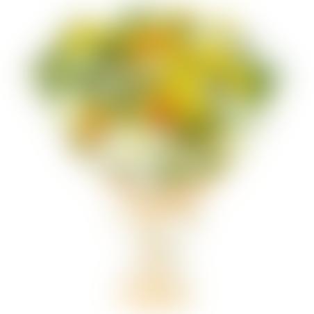 זר גרברות צהובות