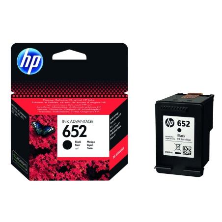ראש דיו שחור מקורי HP 652 למדפסות 3835/5275